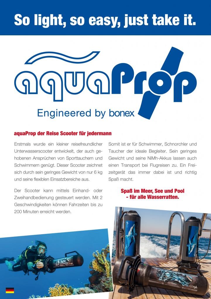 aqua Prop Flyer, September 2016