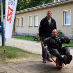 Scooter-Test mit SSI